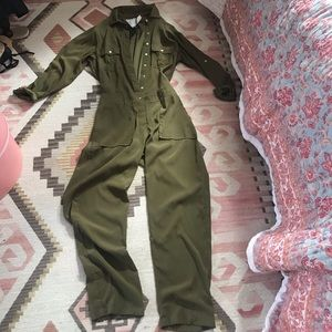 Acacia Mississippi jump suit S NWT